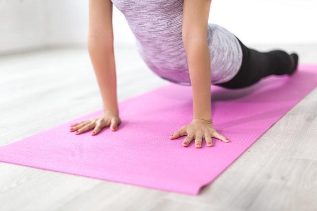 Yoga Übungen zur Entspannung